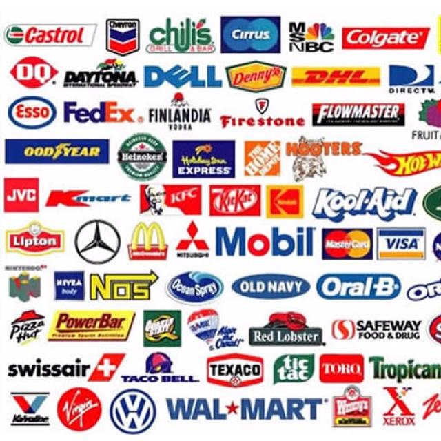 Different Well-Known Logos  Grafische Inspiratie  Online Dating -3078