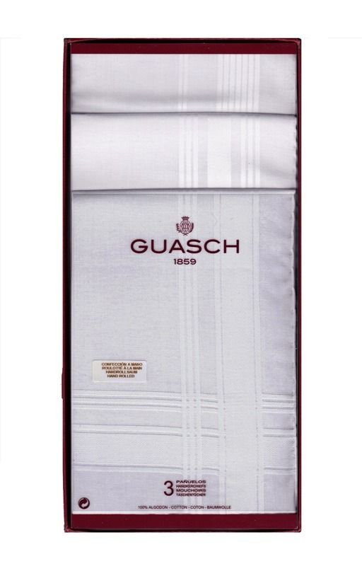 Packs de pañuelos para hombre de primeras marcas - ENVÍOS 24/48h - pañuelos hilo - Tu ropa interior masculina en Varela íntimo.