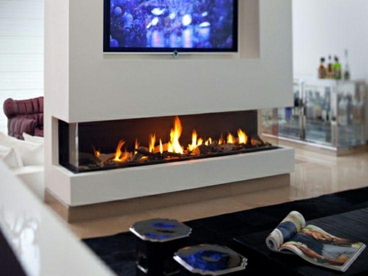 die besten 25 moderne kamine ideen auf pinterest. Black Bedroom Furniture Sets. Home Design Ideas