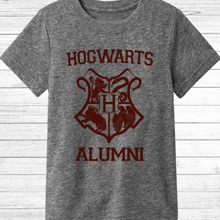 Hogwarts Alumni Shirt - Harry Potter T-shirt - Harry Potter Gift - Hogwarts Triblend Gray T-shirt by TrendyTeeCo on Etsy https://www.etsy.com/listing/570109363/hogwarts-alumni-shirt-harry-potter-t