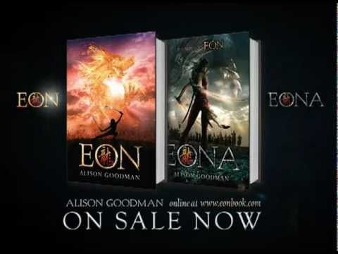 Eon and Eona by Alison Goodman book trailer - I am currently enthralled by these two books!