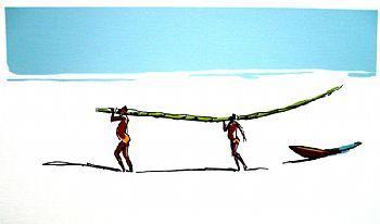 Caybé - Galeria de Gravura - Praia