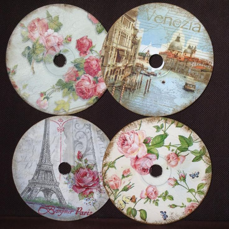 cd clocks - wedding favors
