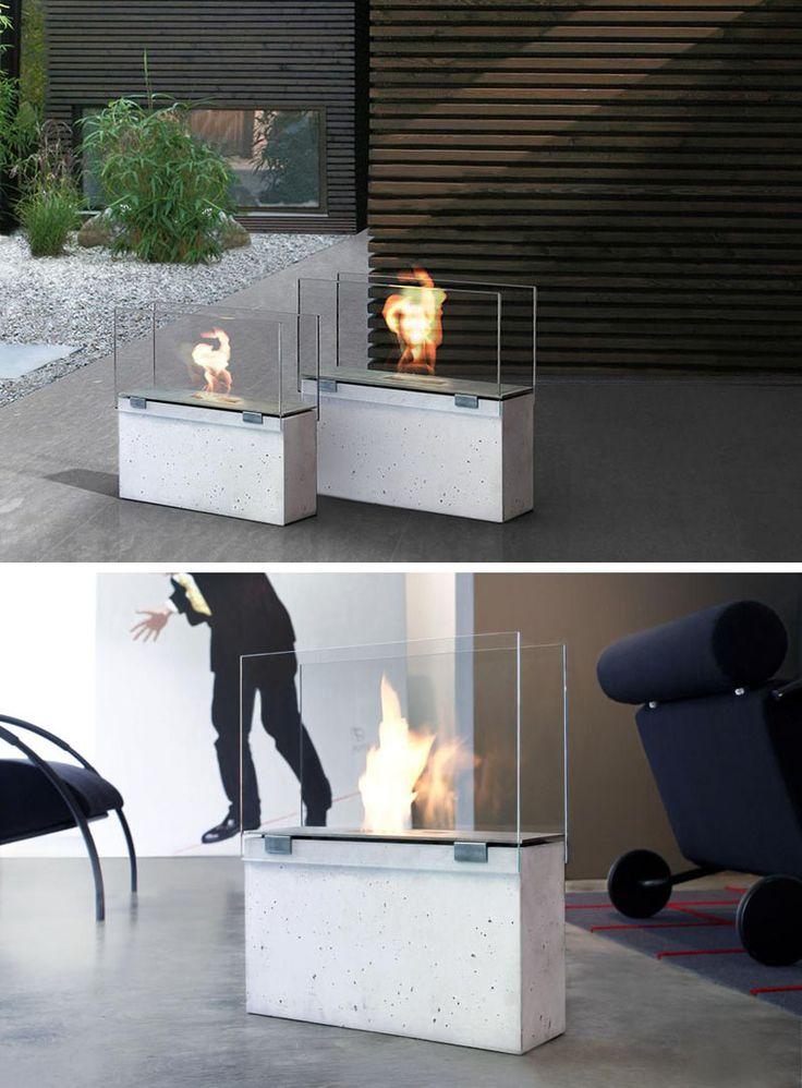 Best 20+ Freestanding fireplace ideas on Pinterest | Modern ...