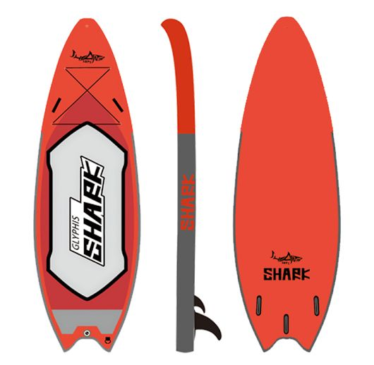 """River Boards  The 9'4 Glyphis Shark River is designed for river.   The 36"""" width for riders up to 110kg with the highest stability and maximum maneuverability to cope with choppy water and big drops.  Perfect for all levels of riders.    Article CodeL  W   TMax Load        N. W.N. W.  SGR-2859' 4""""  36""""  6""""100kg220lbs12kg26lbs"""