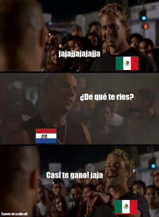 """ahora si ke nos ganaron """"RAPIDO"""" y  dejaron a mexico FURIOSO"""""""