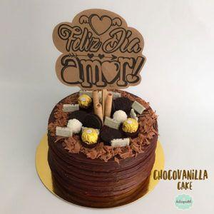 Torta de Chocolate y Vainilla en Medellín por Dulcepastel.com #chocovanilla #chocovanillacake #chocolate #vanilla #tortadechocholateyvainilla #tortamarmolada #ferrerorocher #hersheys #oreo #tortasmedellin #tortaspersonalizadas #tortastematicas #cupcakesmedellin #tortasartisticas #tortasporencargo #tortasenvigado #reposteriamedellin