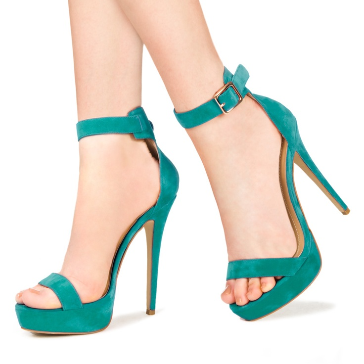 Pin to Win $500! Easily dress up your outfit with Bellagio. This heeled sandal has simple straps with bold color. Enter here: https://www.facebook.com/justfab/app_137377669785610?ref=ts