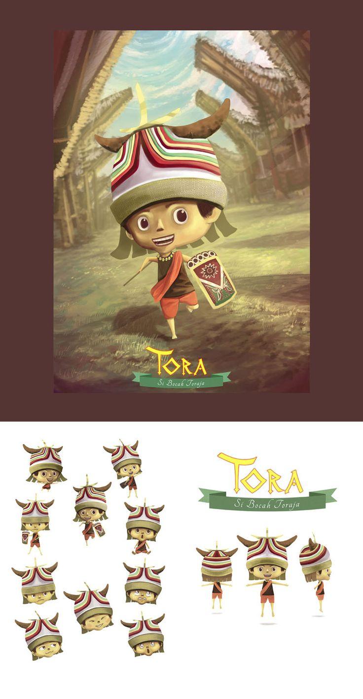 """""""TORA"""" Kompetisi penciptaan karakter lokal Indonesia 2014"""