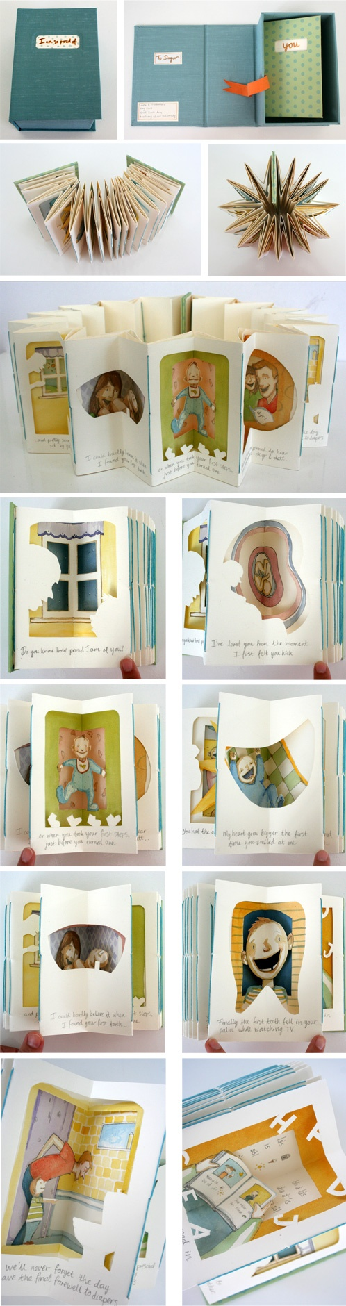Carousel Book by Linda Olafsdottir
