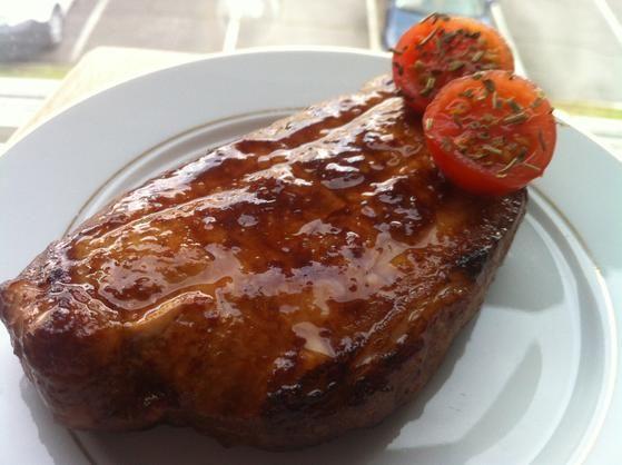 Côte de porc Maison : une recette proposée par Itarillex3 pour Recipay.com.  Vous avez aimé ? Partagez votre photo de la recette sur Recipay.com !  #côte #porc #marinade #grillade #barbecue #été #recette #recettefacile #recipay