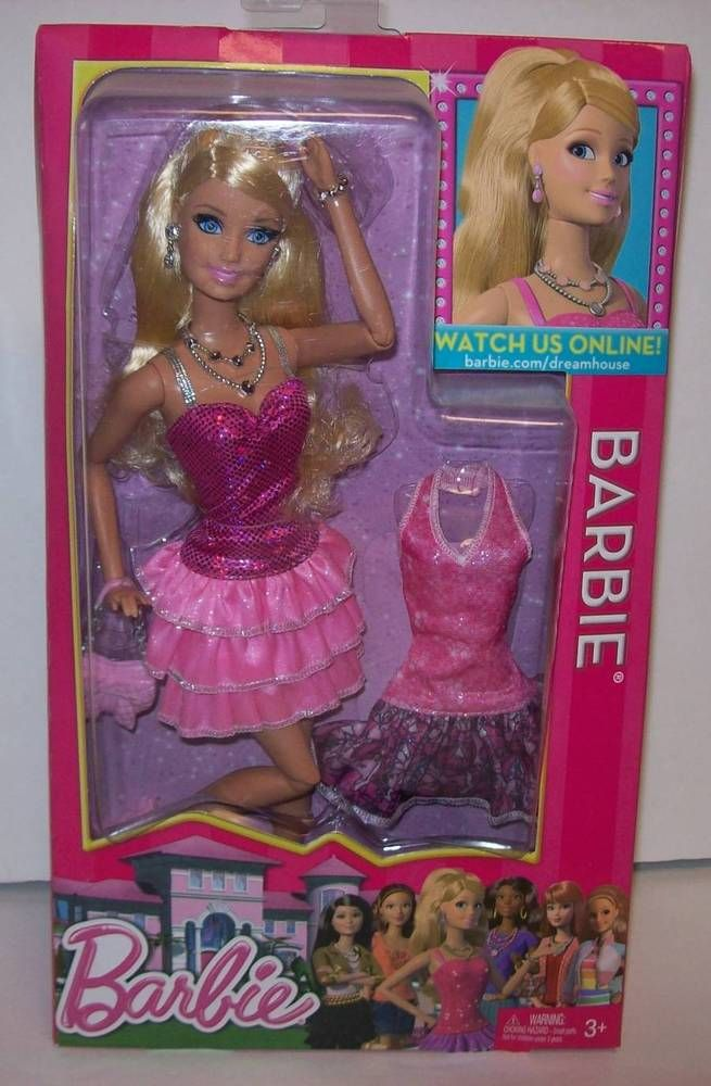 Barbie Life in the Dreamhouse Barbie Doll NRFB Mattel 2012 #Mattel #Dolls