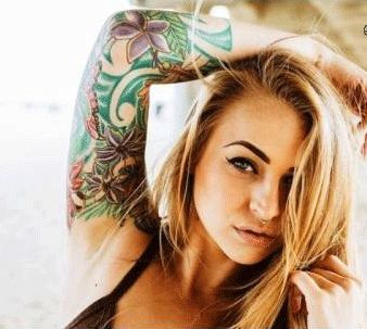 27 best images about Mujeres tatuadas on Pinterest ...