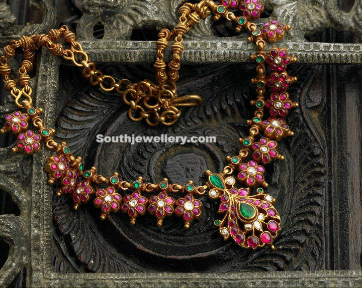 Ruby Necklace ~ Latest Jewellery Designs