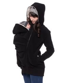 KILIAN warme Winter-Fleece-Tragejacke Teddy