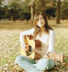 Listening to a lot of YUI lately. Wish she'd come back!