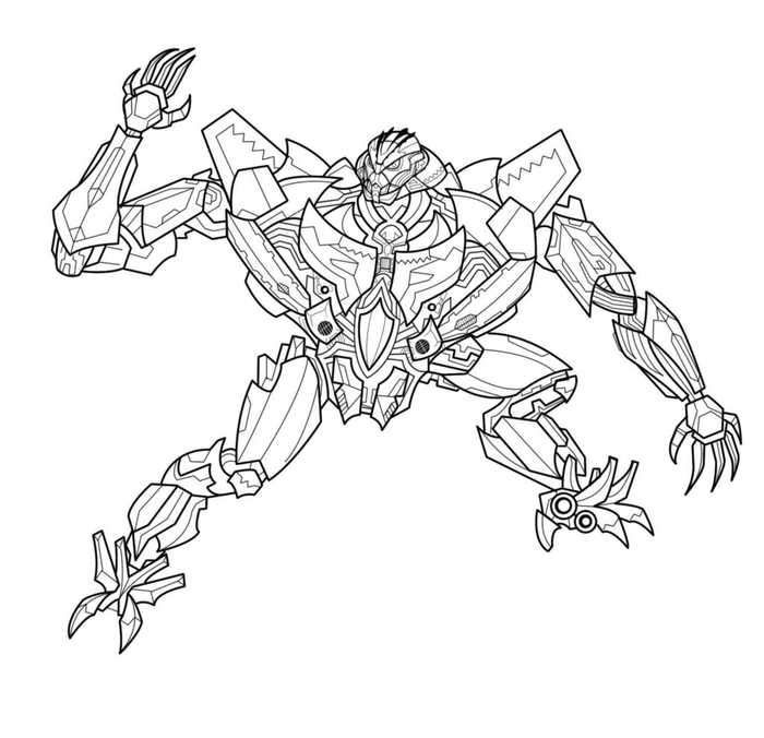 Megatron Transformers Coloring Pages In 2020 Transformers Coloring Pages Coloring Pages Unicorn Coloring Pages
