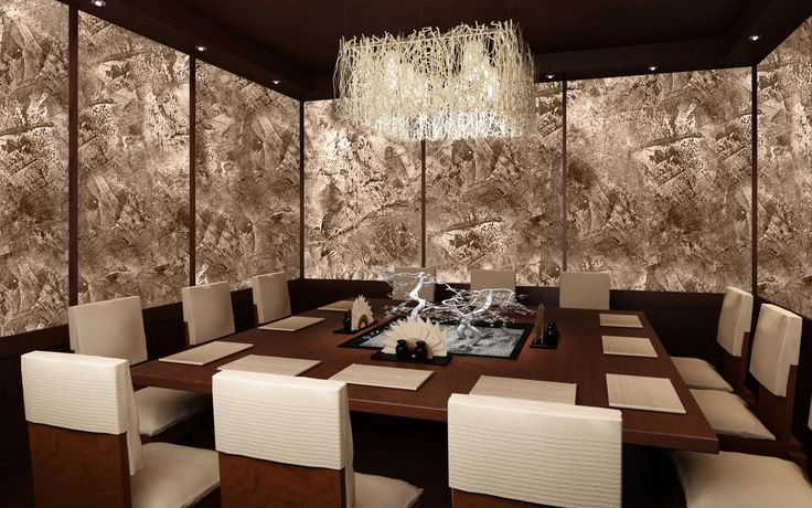 Gold and Silver Effects on Venetian Plaster