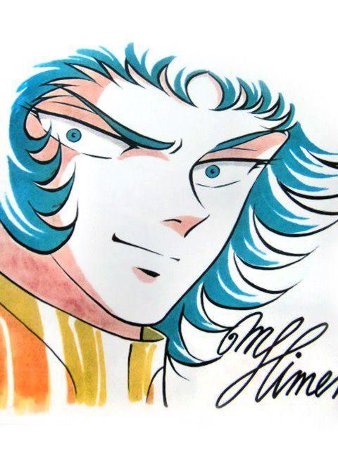 姫野美智 Capricorn Shura's art by Michi Himeno プレゼント用に描かされたやつ