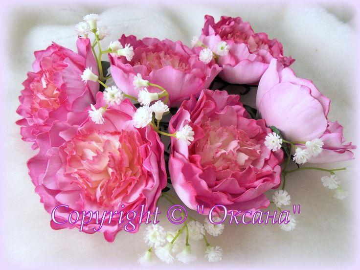 Всем привет! В этом мк я покажу Вам как я делаю не раскрытый цветок пиона из иранского фоамирана , в основном лепестки обрабатываются без нагрева на утюге , ...