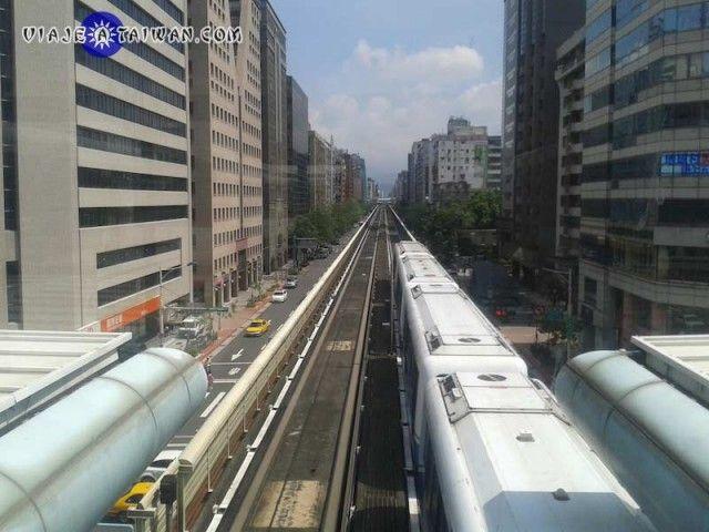Linea marron metro de Taipei