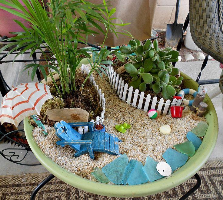 273 best Fairy Gardens - Beach images on Pinterest | Fairies garden ...