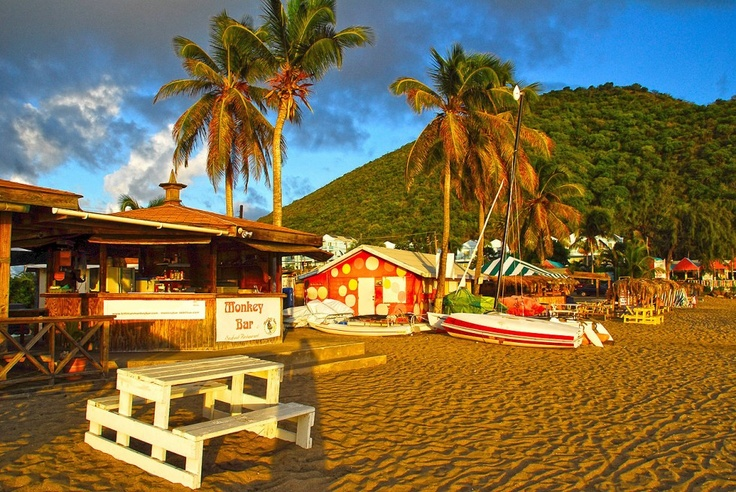 Monkey Bar in St. Kitts