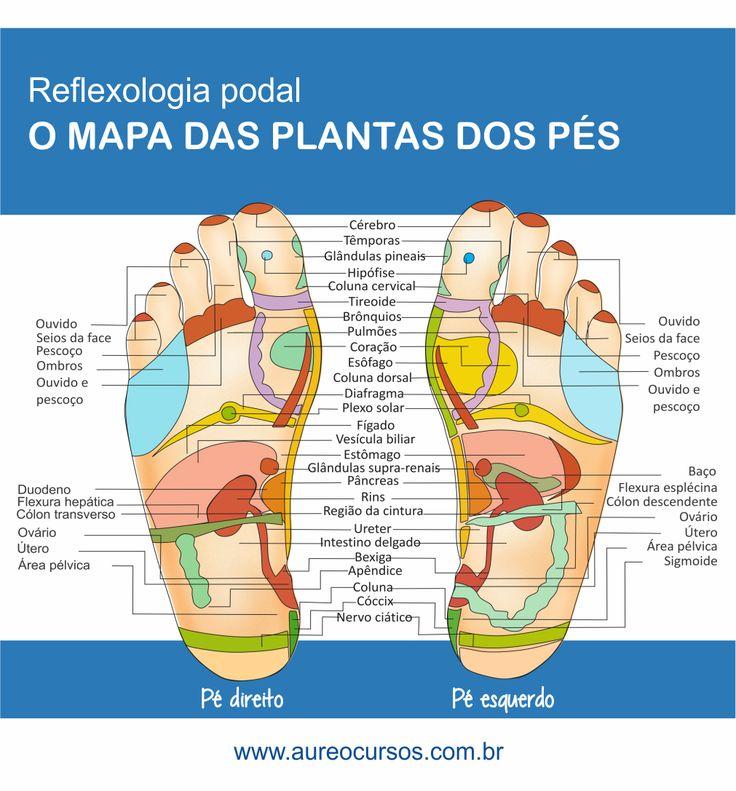 Reflexologia Podal consiste em um conjunto de técnicas baseadas na aplicação de pressão adequada em determinadas áreas e pontos dos pés. Cada um dos pontos reflexos correspondem a diferentes órgãos e...