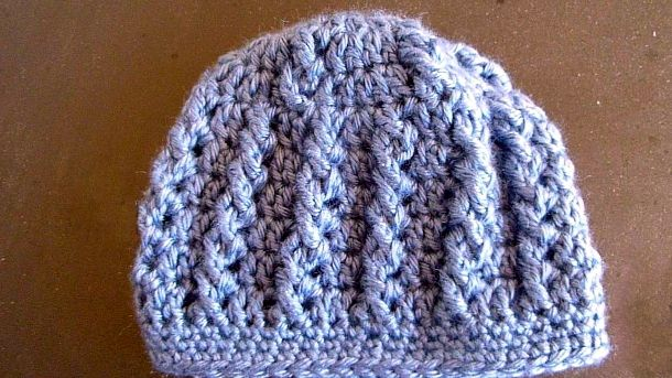 Infant Hat In Simple Cables On Pinterest Discover The