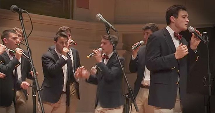 The a cappella men of The Virginia Gentlemen have some serious talent. Their harmonies never fail to amaze.  And when you hear their performance of 'Lean On Me' you'll be absolutely wowed. What a talented group of young men and I just love this song! The a cappella men of The Virginia Gentlemen have some serious talent. Their harmonies never fail to amaze. And when you hear their performance of 'Lean On Me' you'll be absolutely wowed. What a talented group of young me...