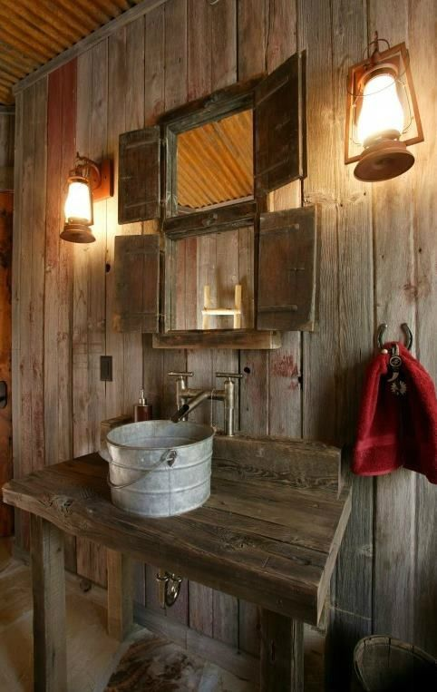 20 Extra Rustic Bathroom Designs 14                                                                                                                                                                                 More