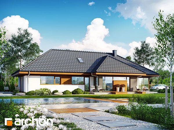 Dom w amarantusach 4 on Behance Dom jednorodzinny parterowy. Dp dyspozycji użytkownika 4 pokoje, kuchnia, łazienka, spiżarka, jadalnia, toaleta, kotłownia, pralnia, garderoby, pomieszczenie gospodarcze, kominek, strych, garaż. Zobacz więcej na archon.pl.