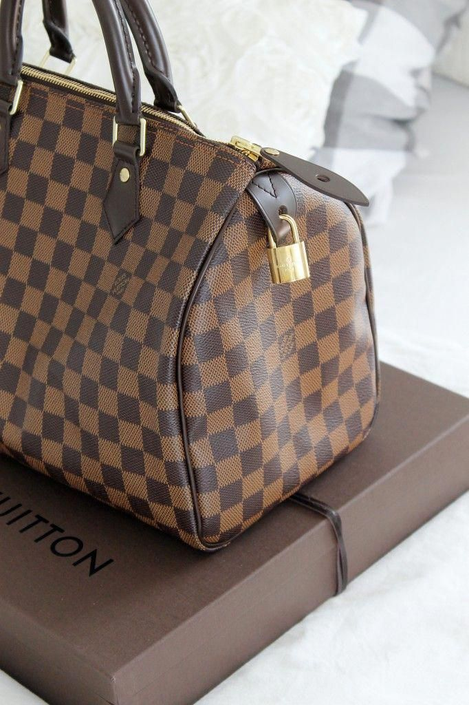192c1799158 Louis Vuitton Speedy 30 Damier Ebene Canvas shopping now on the website  www.diybrands.co can get 10% discount with the original package and fast  delivery ...