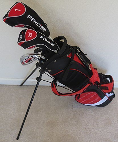 Best Golf Bags | Junior Golf Club Set Complete With Stand Bag for Kids Ages 58 Red Color Premium Jr * Check this awesome product by going to the link at the image.(It is Amazon affiliate link) #comments #golfbags
