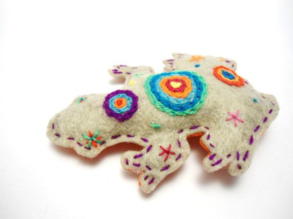 The Frog Sacred Animals by romualda on Etsy, $17.50