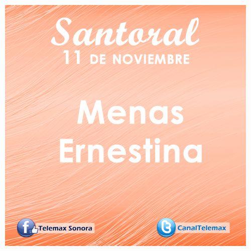 Santoral 11 de noviembre