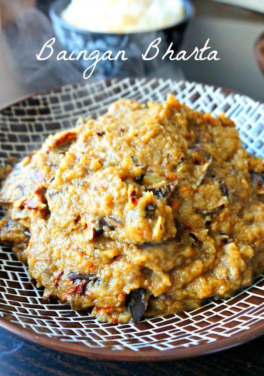 Baingan Bharta : Purée d'aubergines indienne , ultra facile et rapide à faire, épicée, pour un voyage assuré!