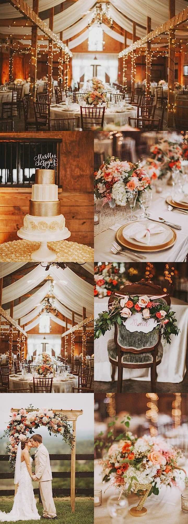 Charming Vintage Decor Totally Transforms Virginia Wedding Venue - MODwedding