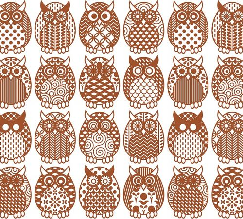 Owl Parliament Pattern by tiffanyharvey, via Flickr