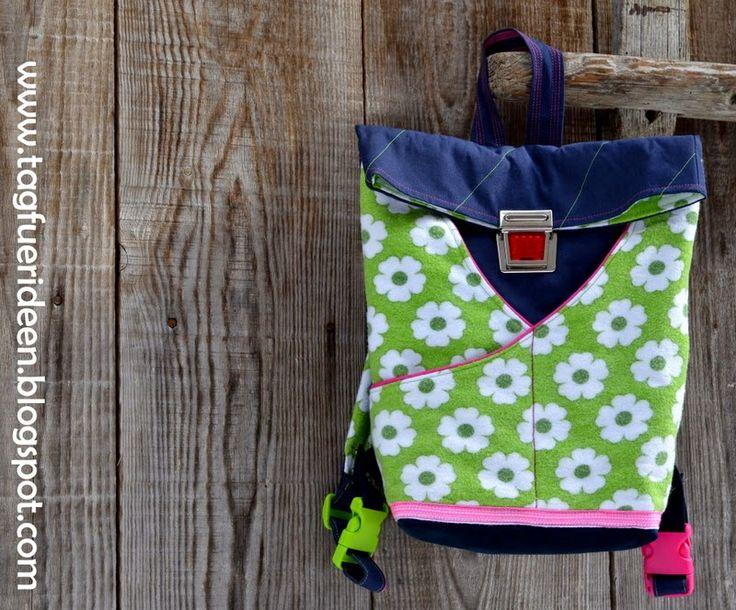 Tag für Ideen: Retro-Kinderrucksack... outnow!!