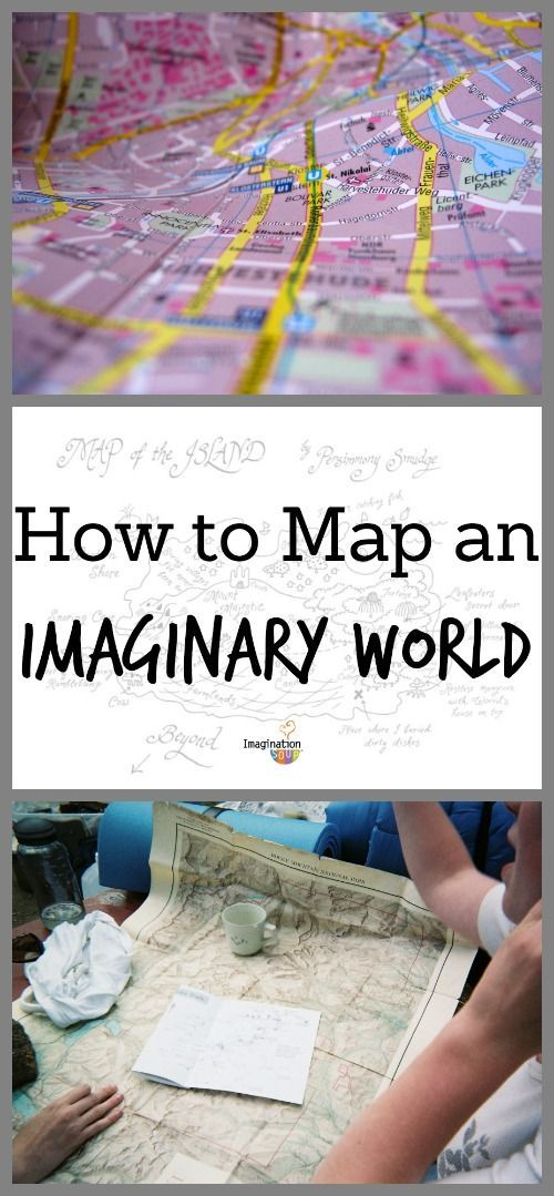 surprising parent/child activity: create a map of your child's imaginary world: