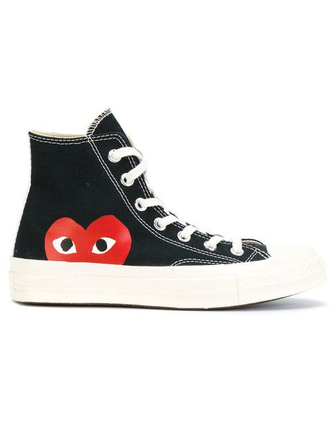 39d69aee56dc6 COMME DES GARÇONS PLAY printed trainers.  commedesgarçonsplay  shoes   sneakers