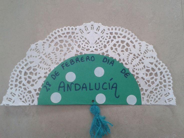 Abanico Día de Andalucía