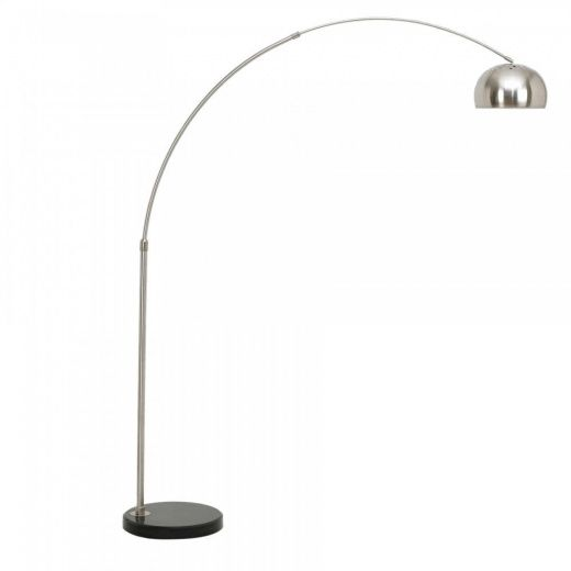 Arc Floor Lamp with Circular Marble Base | Modern Lamps | Cult UK