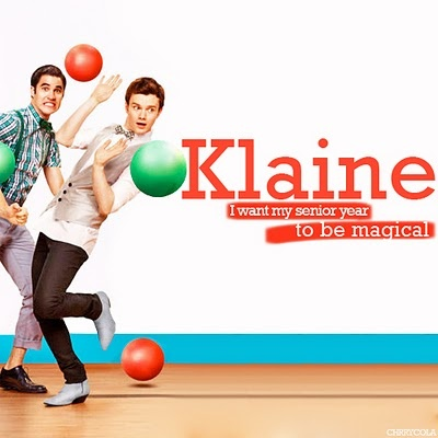 Blaine and Kurt from Glee (my favorite couple!)