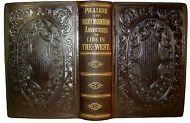 1860 OLD WEST INDIAN MASSACRE PIONEER BUFFALO HUNT FUR TRADE LDS GOLD CALIFORNIA