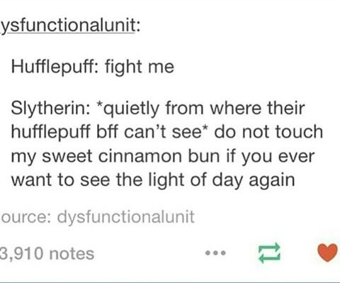hufflepuff and slytherin relationship problems