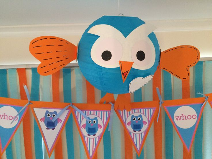 Giggle and Hoot Lantern Birthday Party Decoration. By My Tulip, Handmade Scrapbooking Party Supplies. by MyTulip on Etsy https://www.etsy.com/listing/239376664/giggle-and-hoot-lantern-birthday-party