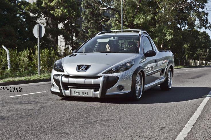 Peugeot Hoggar Lowered @ Enfierrados 207