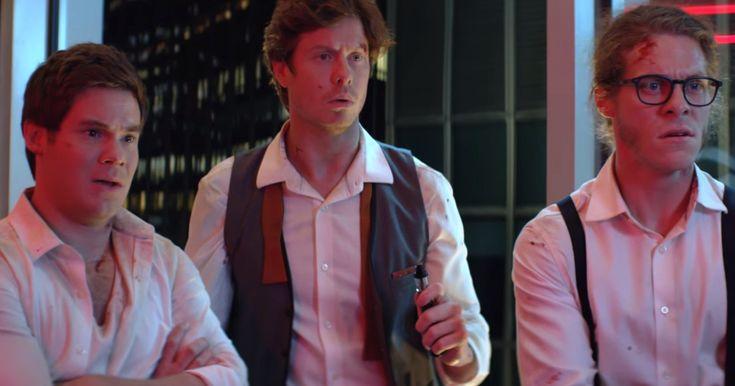 "Netflix Trailer For ""Game Over, Man!"""